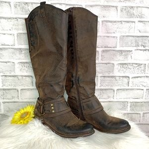 Crown Vintage Bourn Zip-Up Riding Boot 6.5